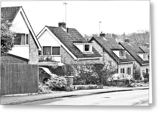 Old Neighbourhood Greeting Cards - Neighborhood Greeting Card by Tom Gowanlock