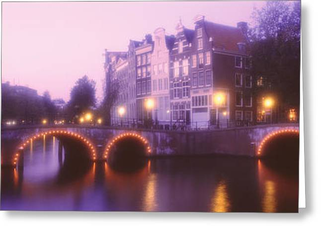 Netherlands, Amsterdam Greeting Card by Panoramic Images