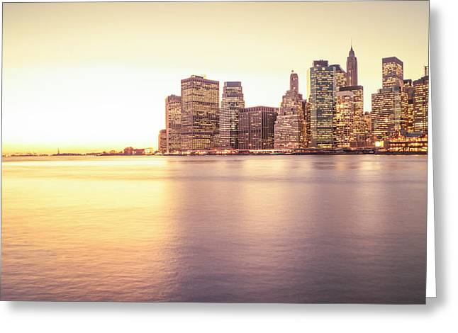 Sony Greeting Cards - New York City Greeting Card by Vivienne Gucwa