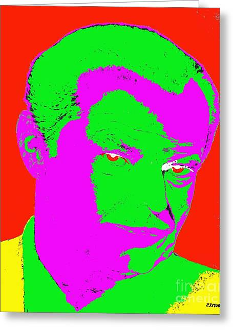 Richter Greeting Cards - Nicholson Greeting Card by Patrick J Murphy