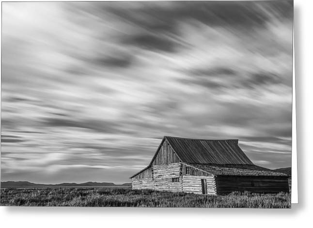 White Barns Greeting Cards - Not in Kansas Anymore Greeting Card by Jon Glaser