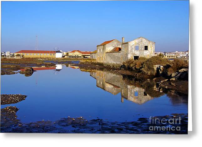 Grain Mill Greeting Cards - Old Tide Mill Greeting Card by Jose Elias - Sofia Pereira