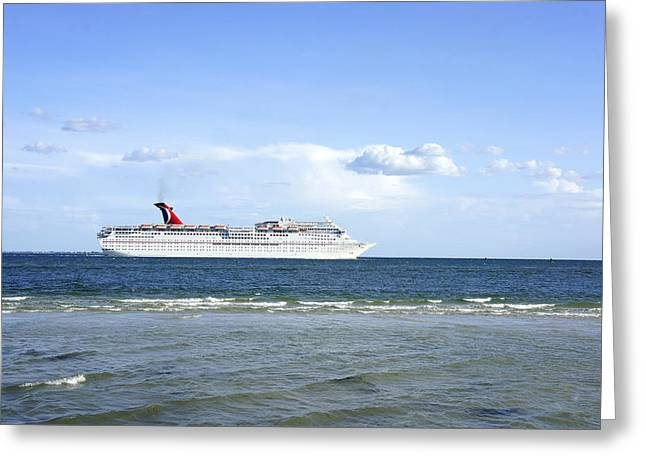 St Petersburg Florida Greeting Cards - One Day Greeting Card by Laurie Perry