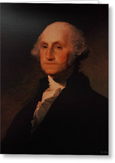 U S Founding Father Greeting Cards - One Greeting Card by Rob Hans