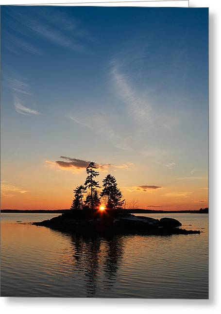 Outlook Greeting Cards - Outlook Point Greeting Card by Nancy Greindl