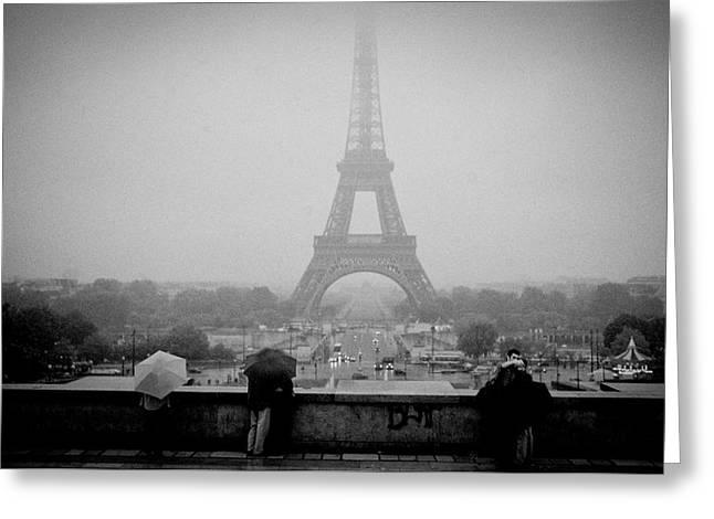Paris  Greeting Card by Cyril Jayant