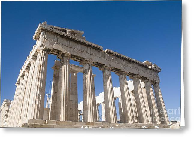 Aging Process Greeting Cards - Parthenon Acropolis Athens Greeting Card by Ilan Rosen
