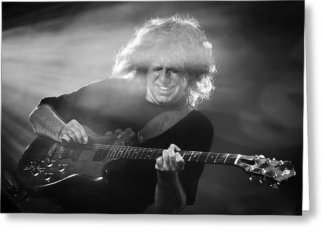 North Sea Greeting Cards - Pat Metheny Greeting Card by Michel Verhoef