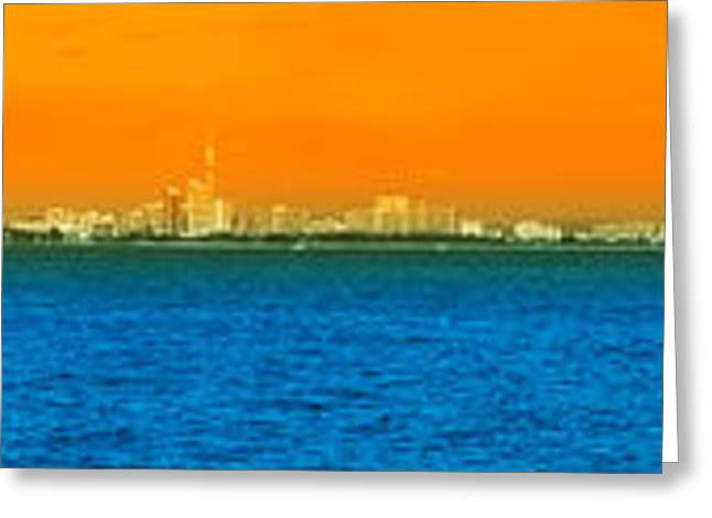 Southeast Asia Greeting Cards - Pattaya Scenic Greeting Card by Atiketta Sangasaeng