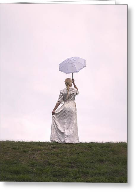 Lady Photographs Greeting Cards - Period Lady Greeting Card by Joana Kruse