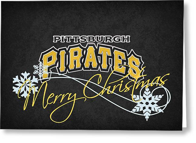 Pittsburgh Greeting Cards - Pittsburgh Pirates Greeting Card by Joe Hamilton