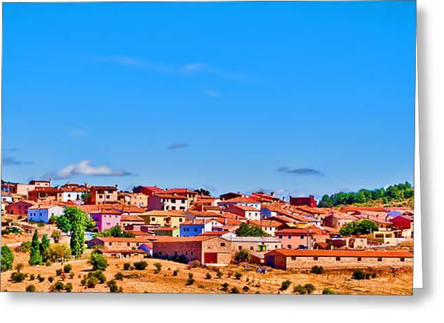 Casa Encantada Greeting Cards - Points of Cuenca - Castilla la Mancha - Spain Greeting Card by Pastor Bello