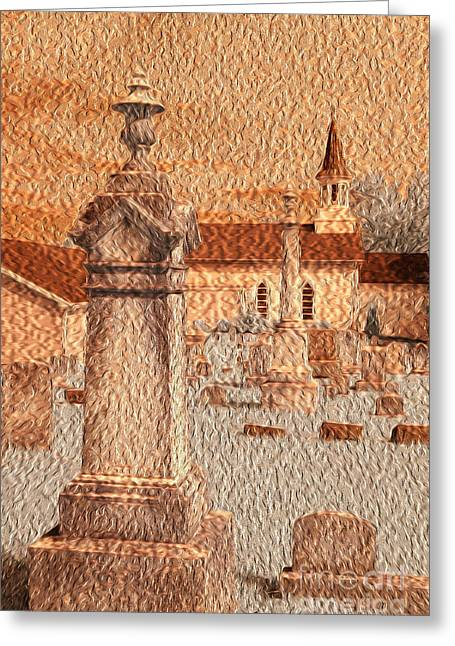 Paint Effect Greeting Cards - 3 Points Greeting Card by Paul W Faust -  Impressions of Light