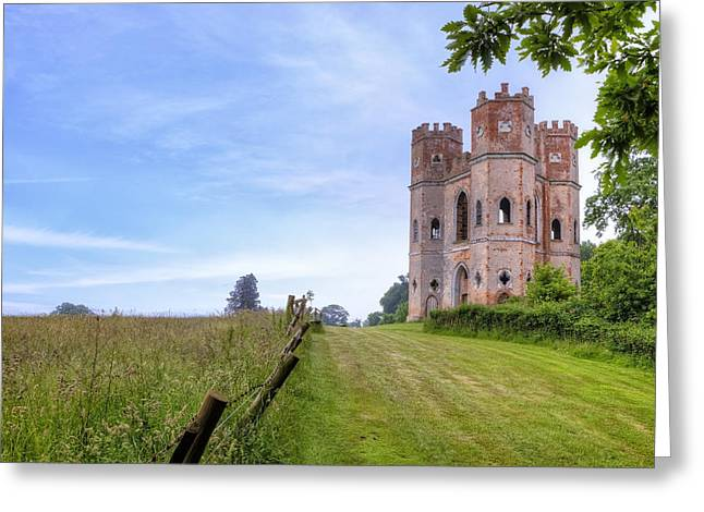 Exeter Greeting Cards - Powderham Castle Greeting Card by Joana Kruse