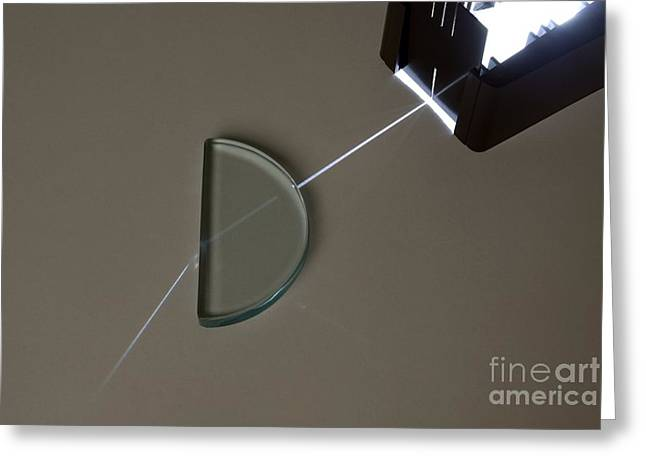 Normal School Greeting Cards - Refraction Greeting Card by Trevor Clifford Photography
