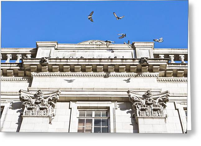 Anglican Greeting Cards - Roman architecture Greeting Card by Tom Gowanlock