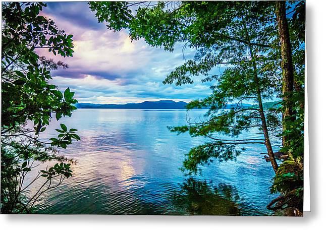 Walhalla Greeting Cards - Scenery Around Lake Jocasse Gorge Greeting Card by Alexandr Grichenko