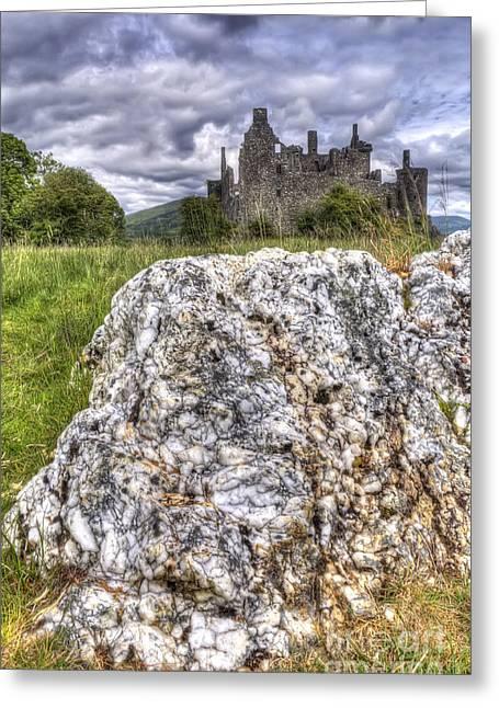 Kilchurn Castle Greeting Cards - Kilchurn Castle Scotland Greeting Card by Colin Woods