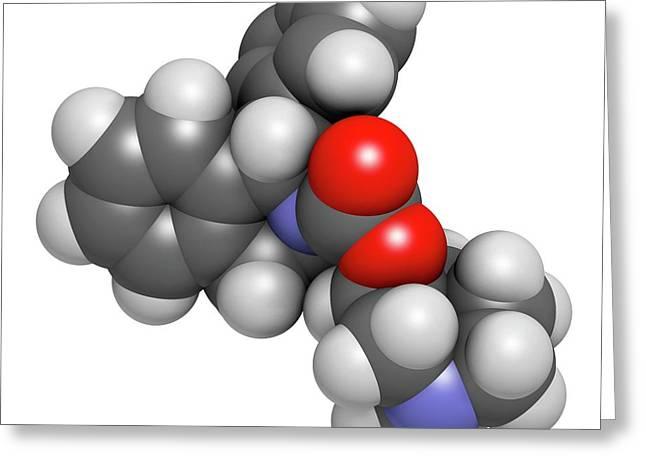 Solifenacin Overactive Bladder Drug Greeting Card by Molekuul