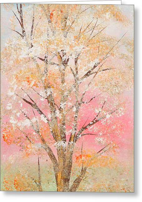 Print On Canvas Greeting Cards - Spring Greeting Card by Roni Ruth Palmer