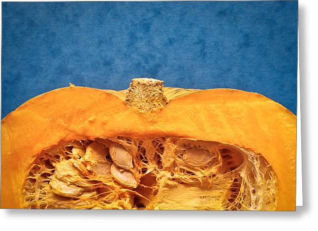 Background Greeting Cards - Squash Greeting Card by Tom Gowanlock
