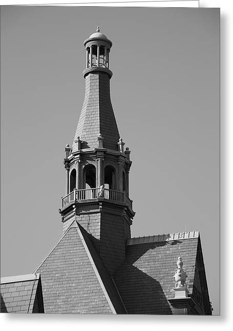 Ziggurat Greeting Cards - Steeple Greeting Card by Frank Romeo