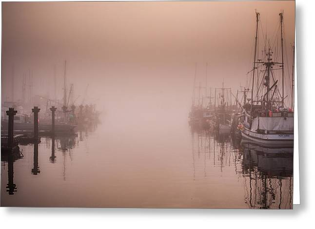 Wesley Allen Shaw Photography Greeting Cards - Steveston BC Greeting Card by Wesley Allen Shaw