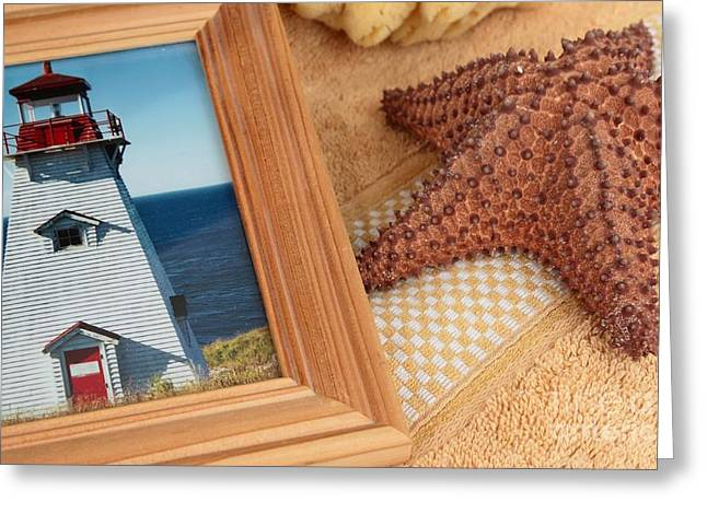 Still Life Photographs Greeting Cards - Summer Memories Greeting Card by Sophie Vigneault