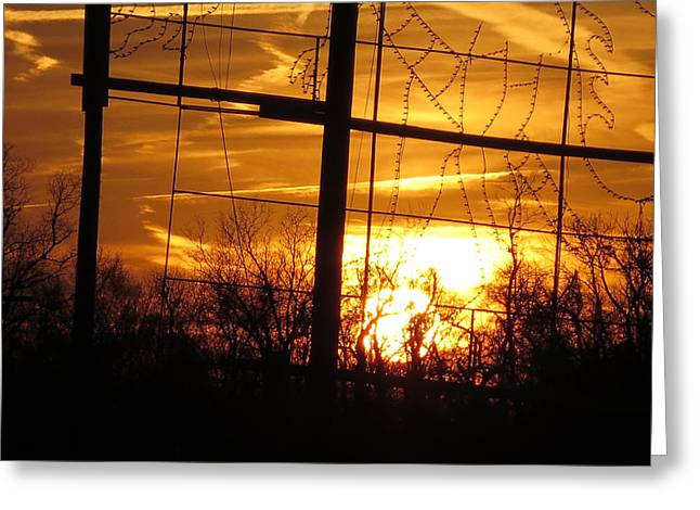 Sunset Framed Prints Mixed Media Greeting Cards - Sunset silhouette  graphic enhancements by NavinJoshi Greeting Card by Navin Joshi