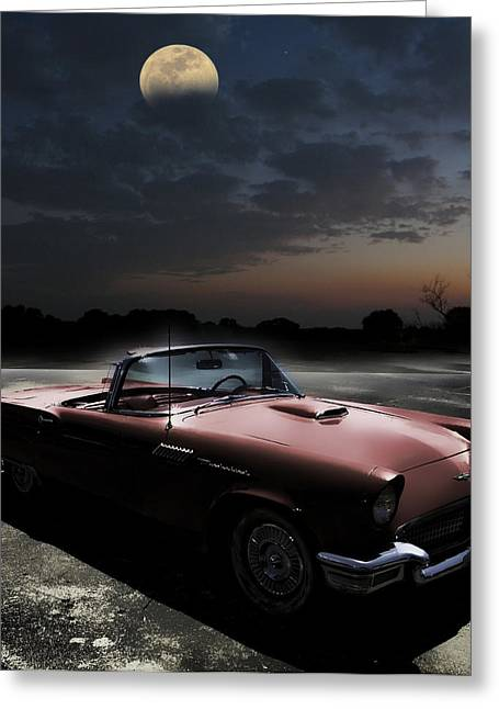 Digipho333 Studio Greeting Cards - Sweet Dreams of Route 66 Greeting Card by Shannon Story
