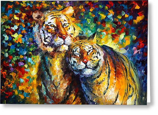 SWEETNESS Greeting Card by Leonid Afremov