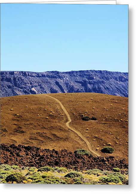 Geology Photographs Greeting Cards - Teide National Park Greeting Card by Karol Kozlowski