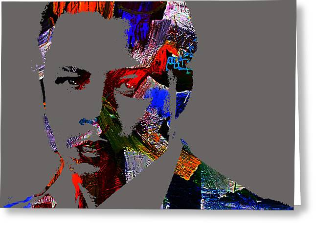 Actors Greeting Cards - Terrence Howard Collection Greeting Card by Marvin Blaine
