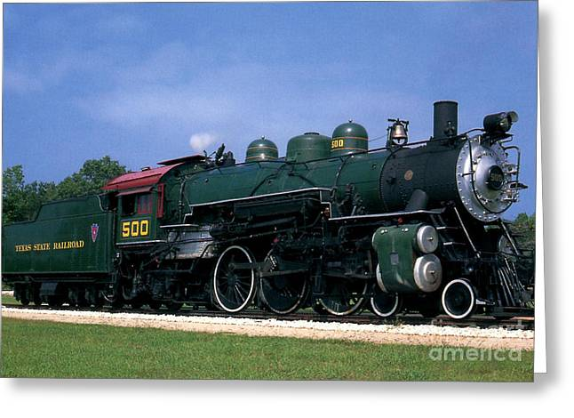 Ruth Housley Greeting Cards - Texas State Railroad Greeting Card by Ruth  Housley