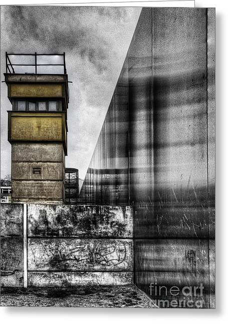 Berlin Wall Greeting Cards - The Berlin Wall Greeting Card by Colin Woods