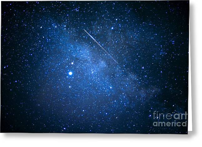 Star Field Greeting Cards - The Night Sky Greeting Card by Thomas R Fletcher