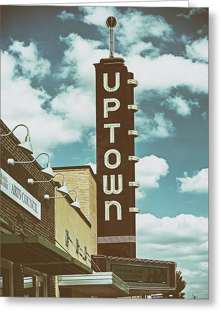 Theatrical Performance Greeting Cards - The Uptown Theatre - Grand Prairie Texas Greeting Card by Mountain Dreams