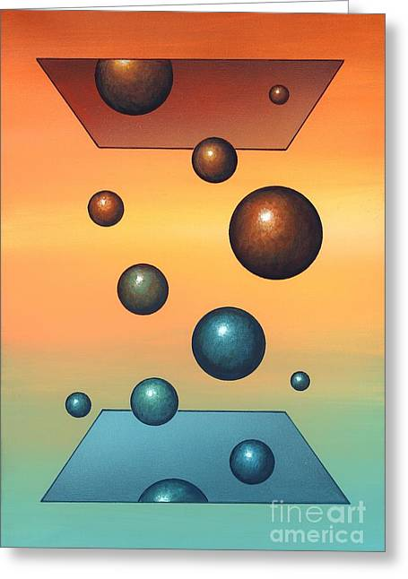 Transfer Greeting Cards - Thermodynamics, Conceptual Artwork Greeting Card by Richard Bizley