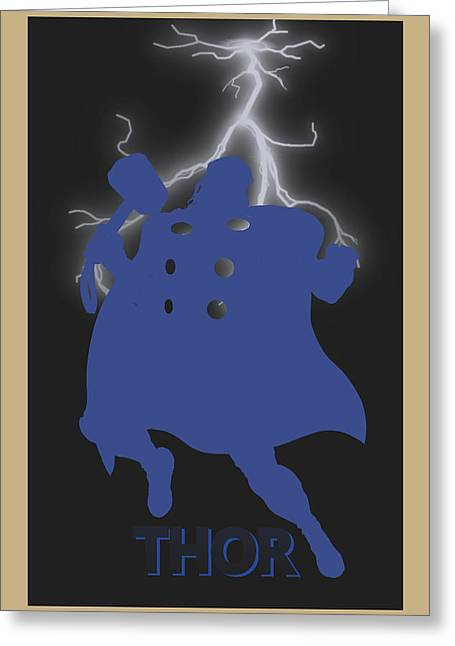 Thor Greeting Cards - Thor Greeting Card by Joe Hamilton