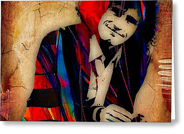 Pop Mixed Media Greeting Cards - Tim Buckley Collection Greeting Card by Marvin Blaine