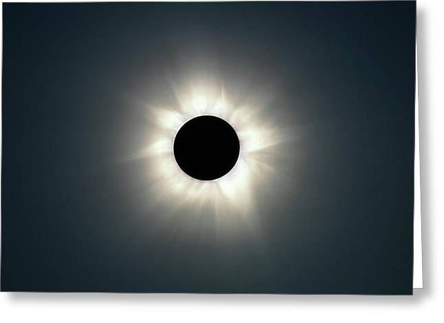 Total Solar Eclipse Greeting Card by Martin Rietze