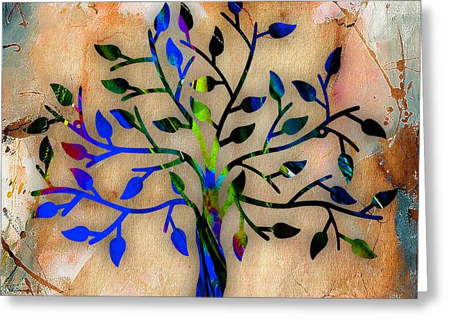 Tree Branch Greeting Cards - Tree Of Life Painting Greeting Card by Marvin Blaine