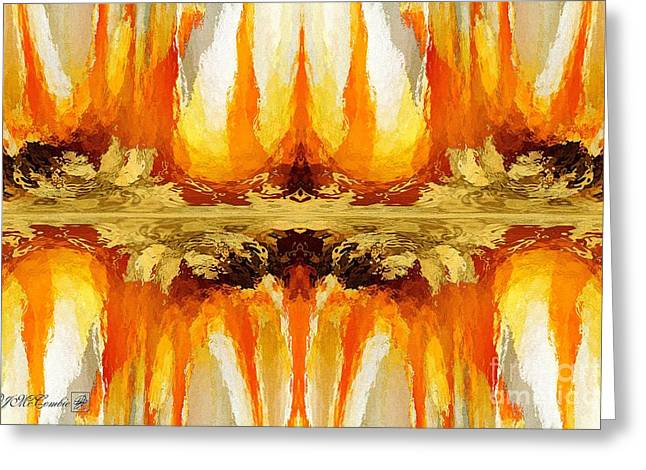 Proportionate Greeting Cards - Trepolo Abstract Greeting Card by J McCombie