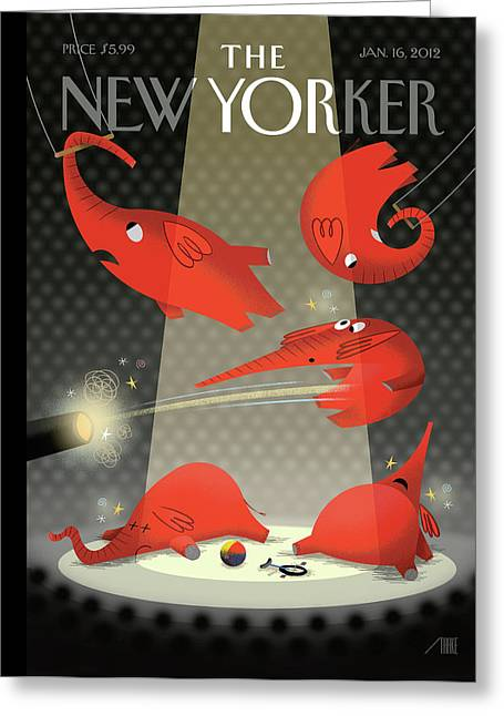 Untitled Greeting Card by Bob Staake