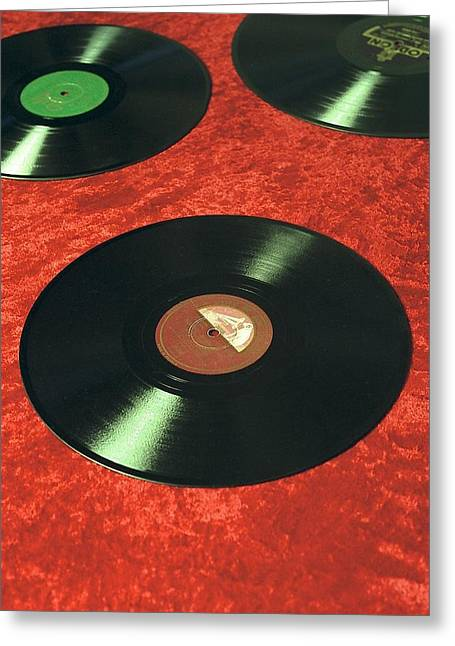 Sixties Music Greeting Cards - Untitled Greeting Card by Didier Gaillard