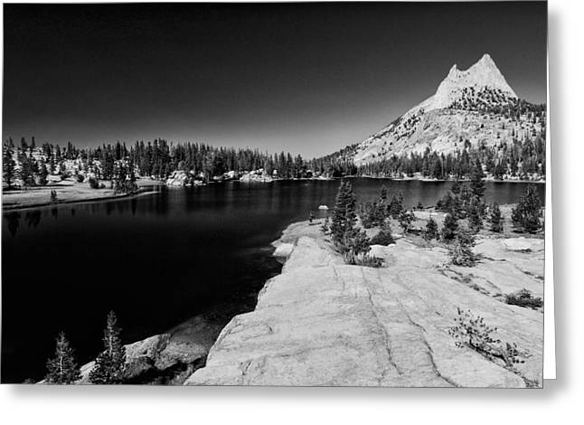 Black Mountain Greeting Cards - Upper Cathedral Lake Greeting Card by Cat Connor