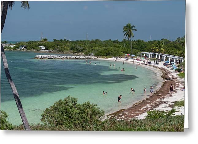 Usa, Florida, Bahia Honda State Park Greeting Card by Charles Crust