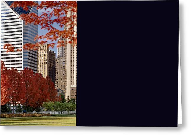 Theater Greeting Cards - USA Illinois Chicago Millennium Park Pritzker Pavilion Greeting Card by Panoramic Images