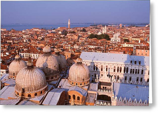 Historic Home Greeting Cards - Venice, Italy Greeting Card by Panoramic Images