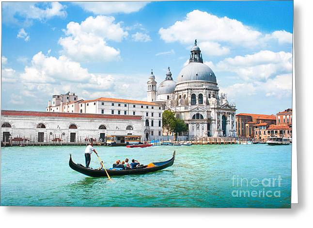 Accademia Greeting Cards - Venice Greeting Card by JR Photography